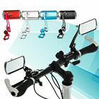 Внешний вид - 1 Pair Cycling Bike Bicycle Handlebar Rear View Mirror Flexible Safety with Base