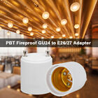 LED Light Bulb Holder Adapter Socket Converter Fireproof GU24 to E26 E27 N3Z7 for sale  China