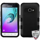 For Samsung Galaxy Express 3/S120/J1/AMP 2 TUFF Hybrid Phone Protector Cover