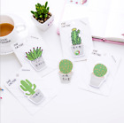 Cactus Sticky Notes Notepad Bookmark Paper Sticker Office School Supply
