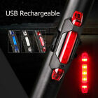 Внешний вид - 5 LED USB Rechargeable Bike Tail Light Bicycle Safety Cycling Warning Rear Lamp