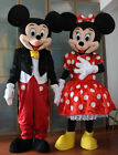 Cheap Mickey and Minnie Mouse Adult Mascot Costume Party Clothing Fancy Dress