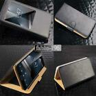 For Various Vodafone Smart phones - Flip View Window Cover Stand Leather Case