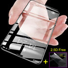 5D Curved Tempered Glass Full Coverage Screen Protector For Phone XS XR X 6S 7 8