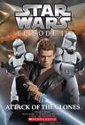 STAR WARS Episode II ATTACK Of the CLONES P C Wrede '02 Paperback Book LN Series $2.06 USD on eBay