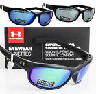 UNDER ARMOUR CAPTURE POLARIZED SUNGLASSES Choose Black / Green/Blue/Grey Mirror