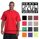Pro Club Heavy Weight Plain Casual Crew Neck Short Sleeve T shirts