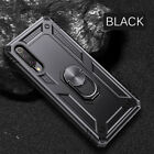 For Huawei Y5 Y6 Y9 2019 Heavy Duty Armor Phone Magnetic Stand Case Cover Shell