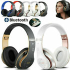Wireless Bluetooth Headphones Headset Noise Cancelling Over Ear With Microphone