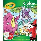 Crayola Color 'n Sticker Book With 50+ Animal Stickers