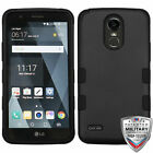For LG Stylo 3 LS777 TUFF ARMOR CASE Rubberized Hard Cover