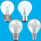 12x Clear Golf Round Dimmable Standard Light Bulb 25W 40W 60W BC ES SBC SES Lamp