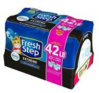 Fresh Step Extreme Scented with the Power of Febreze, Clumping Cat Litter - Moun