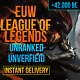 League Of Legends Account LOL Euw Smurf 42,000 - 52,000 BE IP Unranked Level 30