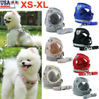 Pet Small Dog Puppy Harness Breathable Mesh And Leash Set Vest Chest Strap XS XL