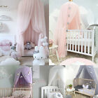 US Kids Baby Bed Canopy Bedcover Mosquito Net Princess Curtain Bedding Dome Tent image
