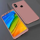 For Nokia 3.1 6.1 360° Full Protection Tempered Glass + Hard PC Case Cover Shell