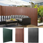 Bamboo Fencing Screening Garden Privacy Fence Panel Screen Roll Protraction