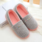Women's Comfortable Cotton Warm House Shoes Anti Slip Bedroom Slippers Home Girl