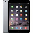 Apple iPad Mini 3 Wi-Fi + Cellular -16GB 64GB 128GB -Space Gray-Gold -Silver (A)