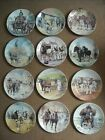 Choose ONE OR MORE Plates WORKING HORSES Wedgwood Danbury Mint Plate Greensmith