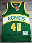 Shawn Kemp #40 Seattle SuperSonics 89-90 Rookie Throwback Jersey on eBay