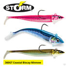 Storm 360GT Coastal Biscay Minnow Lures - Bass Cod Pollock Sea Fishing Tackle