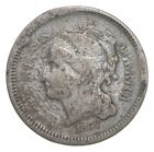 1867 Nickel Three Cent Piece - Charles Coin Collection *749