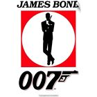 Wall Decal entitled James Bond Collection () $55.67 CAD on eBay