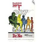 """""""Dr. No - Vintage Movie Poster"""" Wall Decal $65.28 CAD on eBay"""