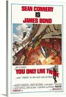 You Only Live Twice - Vintage Movie Canvas Wall Art Print, Movie Home Decor $59.49 USD on eBay