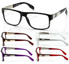Kyпить New WB Men Women Clear Lens Eye Glasses Designer Frame Optical RX Fashion Square на еВаy.соm