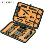 18PCS Nail Clippers Sets High Precisio Stainless Steel Nail Cutter Pedicure Kit