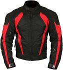 Milano Sport Black Red Gamma Waterproof Textile Motorcycle Jacket New
