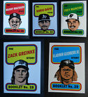 2019 Topps Heritage Story Booklet Baseball Cards Complete Your Set U Pick on Ebay