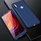 360° Full Protect Cover Case +Tempered Glass For Xiaomi Mi 8 8SE Max3 Mix2 A1 A2