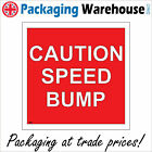 CS300 CAUTION SPEED BUMP SLOW DOWN ROAD TRAFFIC ACCIDENT PREVENTION CAR SIGN