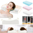 MEMORY FOAM PILLOW ORTHOPAEDIC FIRM HEAD NECK BACK SUPPORT CUSHION PAD RELAX US image