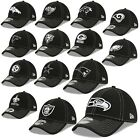 New Era Cap 39thiry Stretch Cap NFL Sideline 19/20 Seahawks Patriots Raiders 3rd