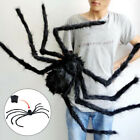 Halloween Horror Wall Decor Black Plush Spider Thread Spider/Spider Net