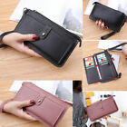 Zipper Phone Case Card Wallet With Rope Pouch pocket Bag Holster Leather Cover