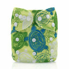 Baby Soft Size Diapers Reusable Bamboo Nappy Pocket Cloth Comfortable