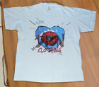 RARE!! T-Shirt The Cure Wish Tour North America Summer 92 White USA Size S-2XL image