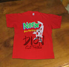 RARE T-Shirt NOFX Are For Kids! 90s japan tour punk band USA SIze S-2XL image