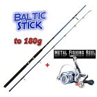 Top Pilk SET   Baltic Stick 3m + DIWA FD 5000 METAL