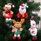 New Christmas Ornaments Santa Claus Snowman Reindeer Toy Doll Hang Decorations