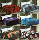 New Selection Plush Very Soft Flannel Blanket King Size  Multi Designs image