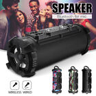 Wireless bluetooth Speaker Stereo Super Bass USB AUX TF FM Music MIC