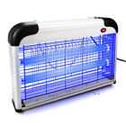 20W WALL HANGING ELECTRIC UV LIGHT MOSQUITO LAMP PEST FLY INSECT KILLER ZAPPER F