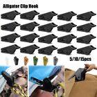 5/10/15Pcs Tent Awning Canopy Clamp Tarp Clip Snap Canvas Clips Gripper Caravan